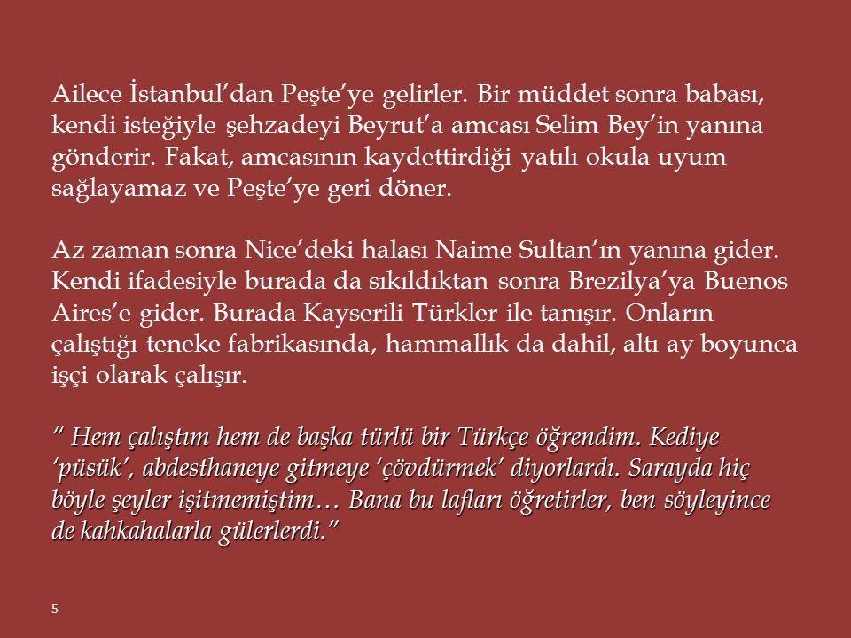 Sultan Abdülhamid'in torunu, Osmanlı Hanedan'ın sâbık reisi ve saltanat yıllarındaki resmî ünvanı 'Şehzâde-i civan-baht devletlû necabetlû Mehmed Orhan Efendi Hazretleri' olan Türkiye Cumhuriyeti vatandaşı Mehmed Orhan OSMANOĞLU, son uykusunu şimdi Nice'in 'Doğu Yakası Mezarlığı'nda, haçların arasında uyuyor.
