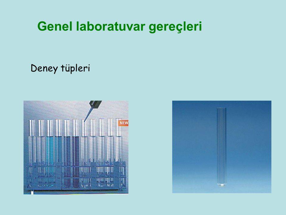 Genel laboratuvar gereçleri Deney tüpleri