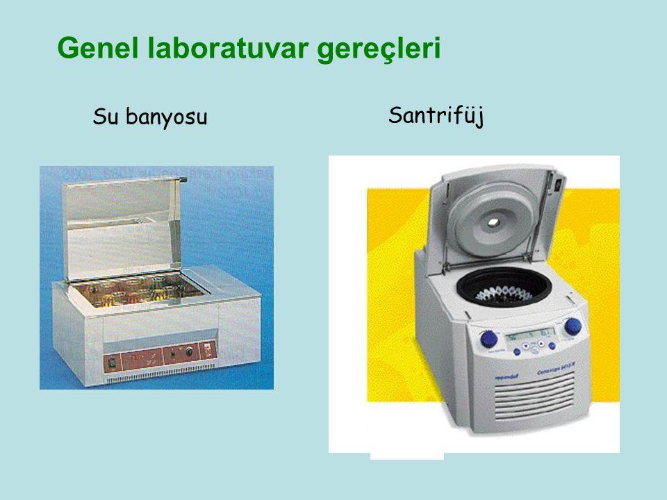 Genel laboratuvar gereçleri Su banyosu Santrifüj