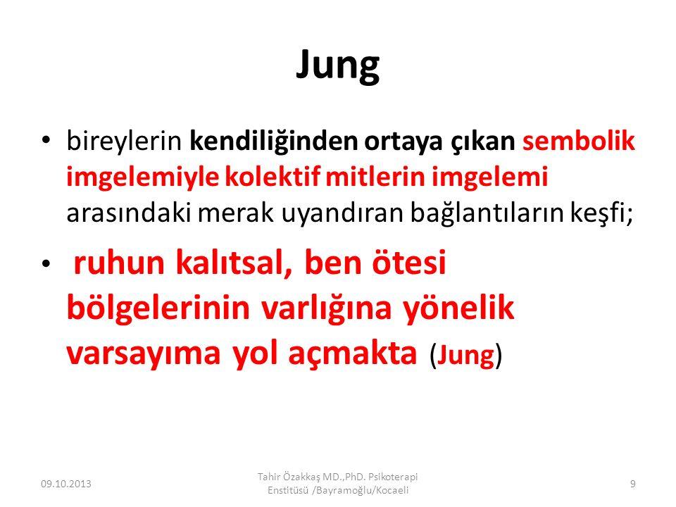 Jung bireylerin kendiliğinden ortaya çıkan sembolik imgelemiyle kolektif mitlerin imgelemi arasındaki merak uyandıran bağlantıların keşfi; ruhun kalıt