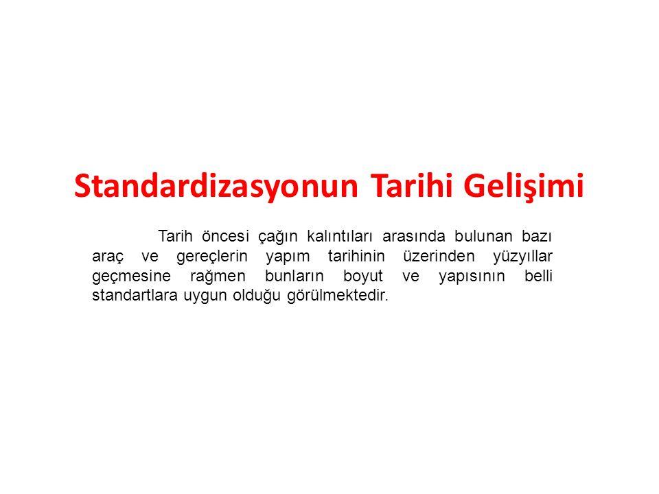 Ürünün ilgili standardına veya teknik düzenlemesine uygunluğu uygunluk değerlendirmesi prosedürleri ile saptanmaktadır.