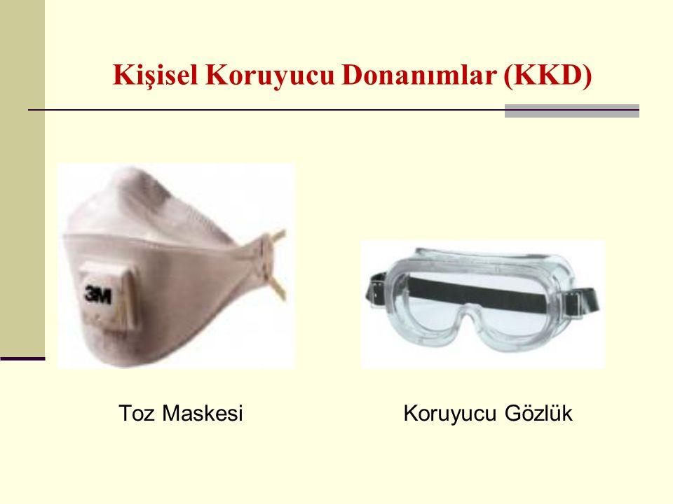 Kişisel Koruyucu Donanımlar (KKD) Toz MaskesiKoruyucu Gözlük