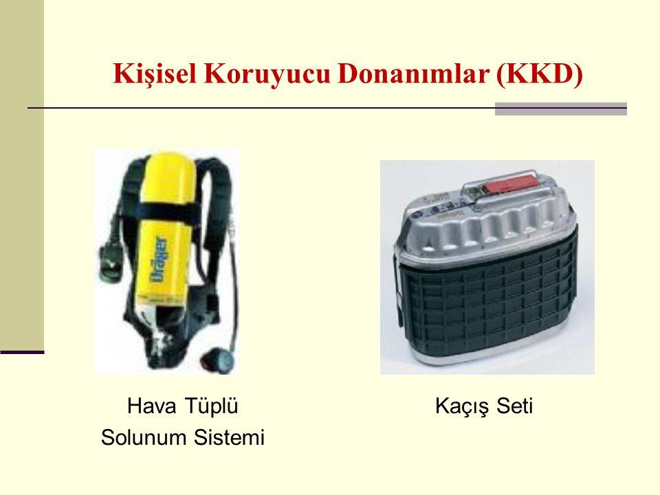 Kişisel Koruyucu Donanımlar (KKD) Hava Tüplü Solunum Sistemi Kaçış Seti
