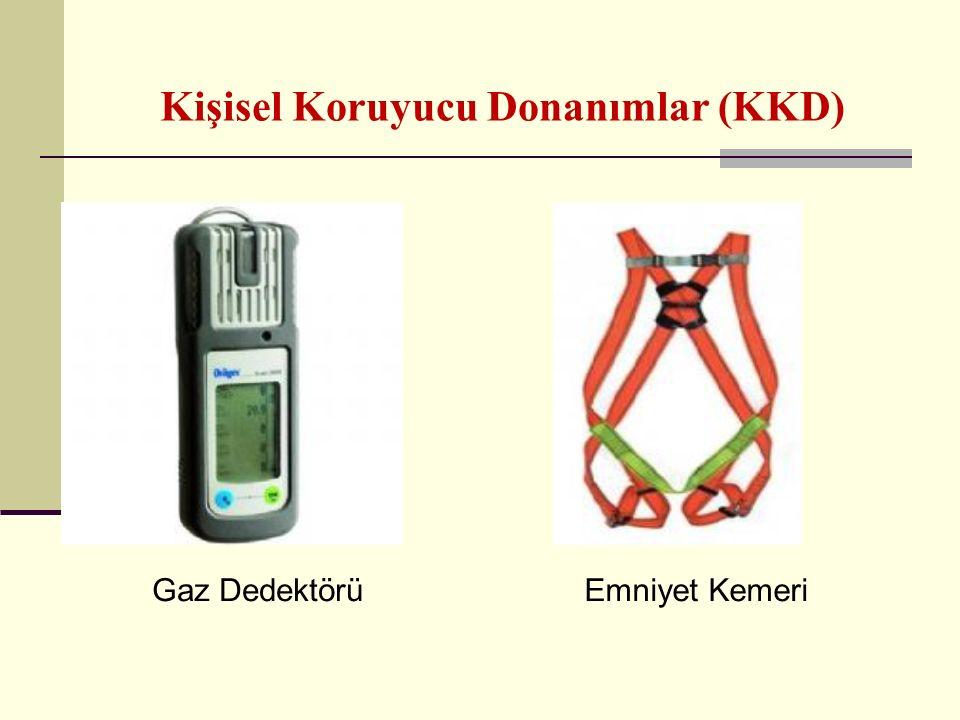 Kişisel Koruyucu Donanımlar (KKD) Gaz DedektörüEmniyet Kemeri
