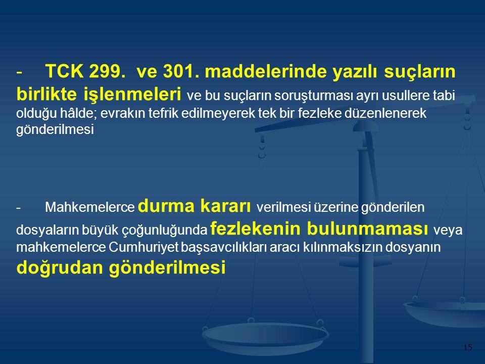 -TCK 299. ve 301.
