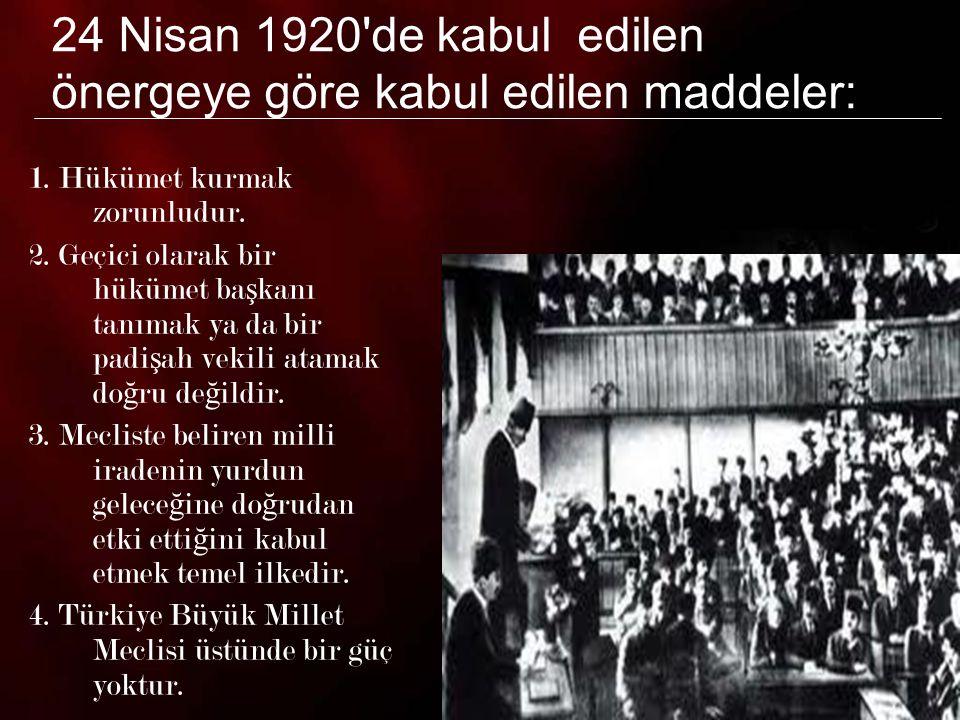 7 5.Türkiye Büyük Millet Meclisi yasama ve yürütme yetkilerini kendinde toplamı ş tır.