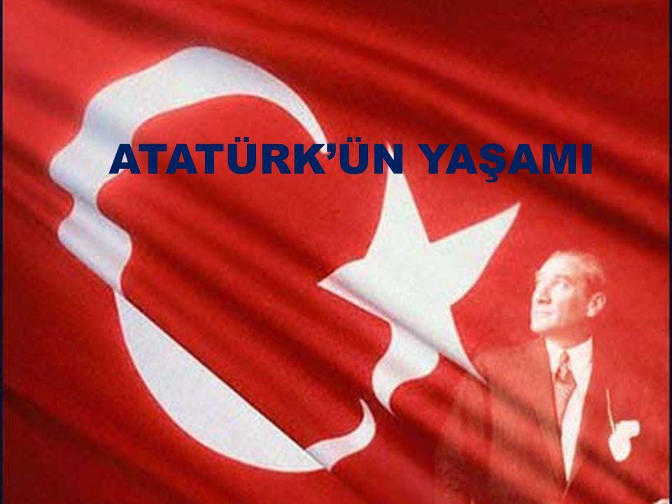 Atatürk 1881(Bin sekiz yüz seksen bir)'de Selanik'te doğmuştur.