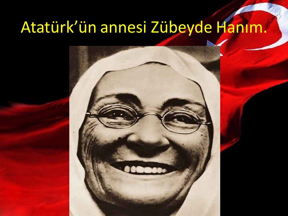 Atatürk'ün babası Ali Rıza Bey.