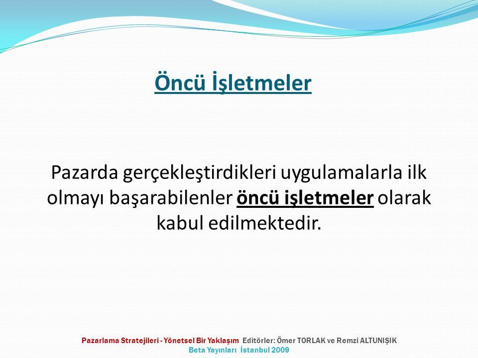 Kullandıkları Stratejiye Göre İzleyiciler Sahteci İzleyiciler Kopyacı izleyiciler Taklitçi izleyiciler Uyarlamacı İzleyiciler Pazarlama Stratejileri - Yönetsel Bir Yaklaşım Editörler: Ömer TORLAK ve Remzi ALTUNIŞIK Beta Yayınları İstanbul 2009