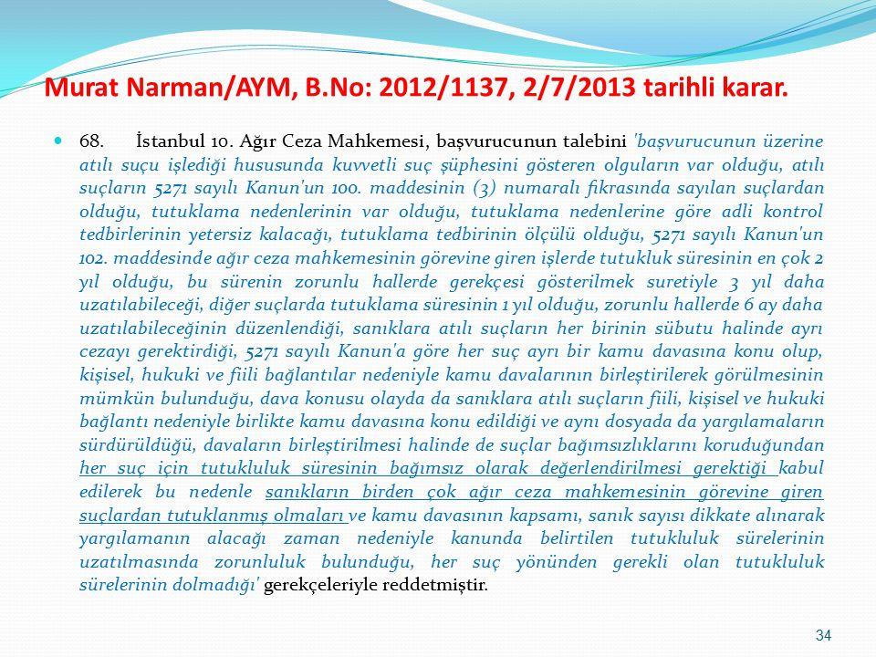 68. İstanbul 10.