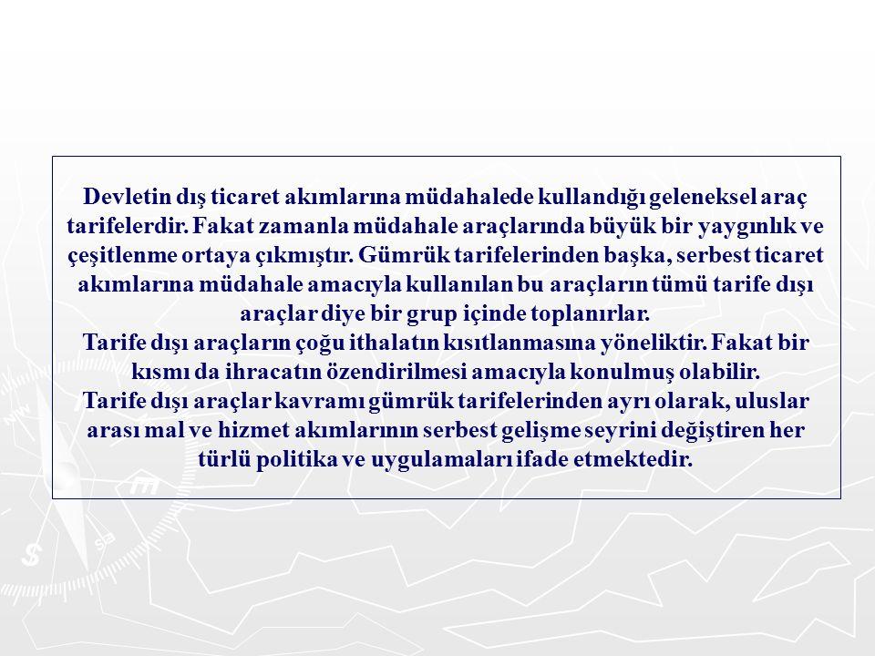 2.İhracat Vergileri Malların ihracından çeşitli isimler altında alınan vergilerdir.