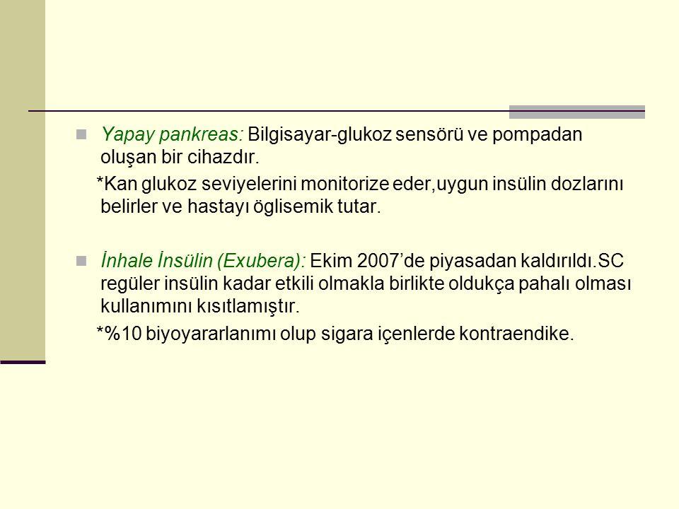 Kaynaklar Tintinalli 7th DM'de İnsülin tedavisi (Ayhan Karakoç,Ceyla Konca,2010) Tip 2 DM tedavisinde Oral antidiyabetik ilaçlar(Göksun Ayvaz,Erdal Kan,2010)
