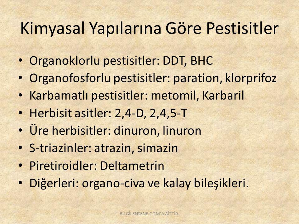 Karbamatlı Pestisitler Karbamik asitin esteri olup ilk kez 1947 yılında geliştirilmiştir.