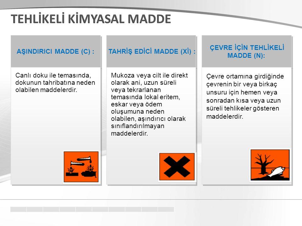  ASG 27 Güvenlik Cümlecikleri  S16Tutuşturucu kaynaklardan uzak tutunuz – Sigara içilmez  S24/25Göz ve deri ile temasından sakının  S36/37/39Çalışırken uygun koruyucu giysi, koruyucu eldiven, koruyucu gözlük/maske kullanın  S50……… ile karıştırmayınız (Üreticinin beyanı)  S60Bu maddenin bulaştığı kapları tehlikeli madde olarak bertaraf ediniz  S62Yutma halinde kusturmayınız, derhal doktora başvurunuz ve bu ambalaj veya etiketi gösteriniz
