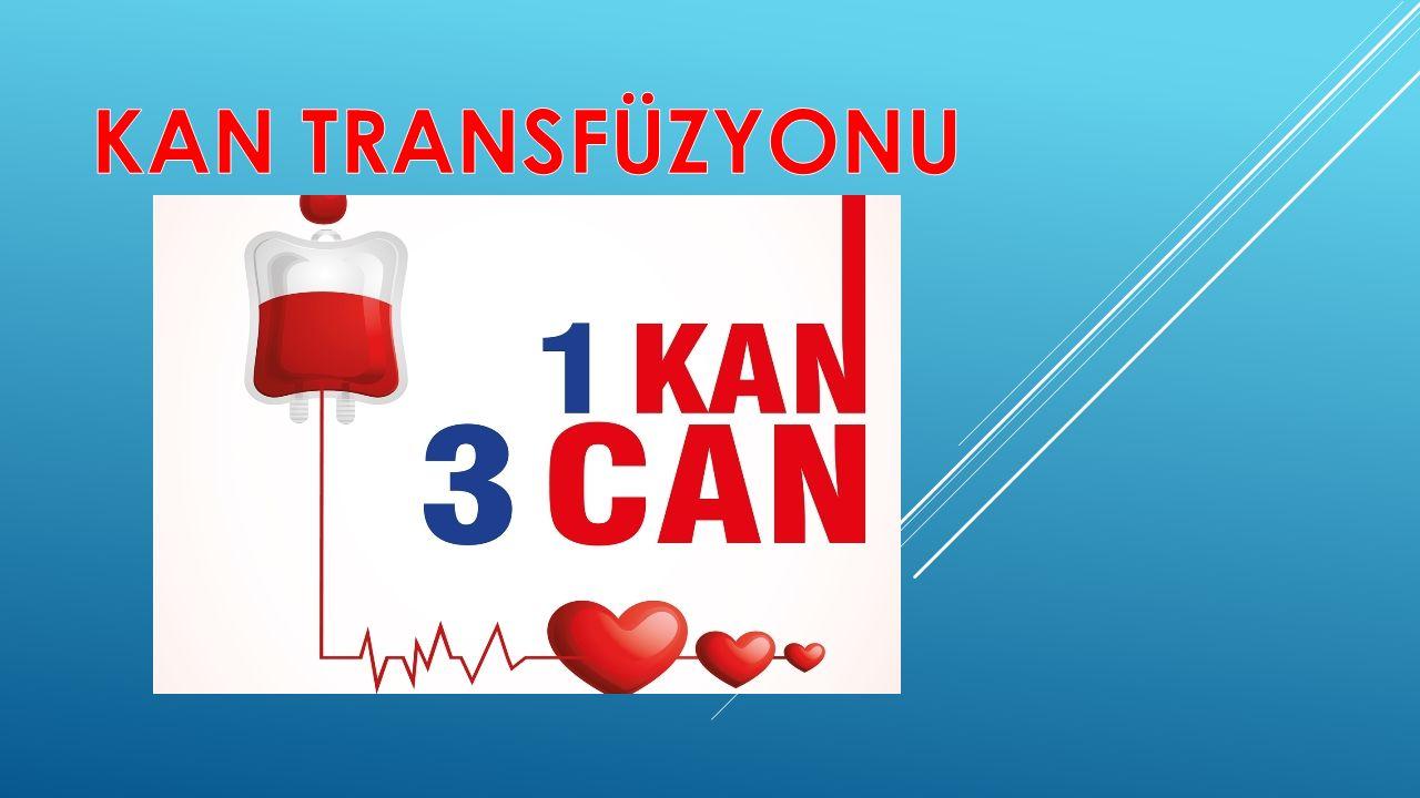  İmmünolojik olmayan transfüzyon reaksiyonları ise:  1.