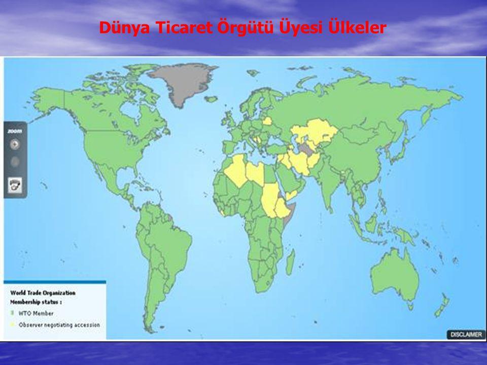 Dünya Ticaret Örgütü Üyesi Ülkeler