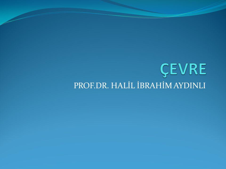 PROF.DR. HALİL İBRAHİM AYDINLI