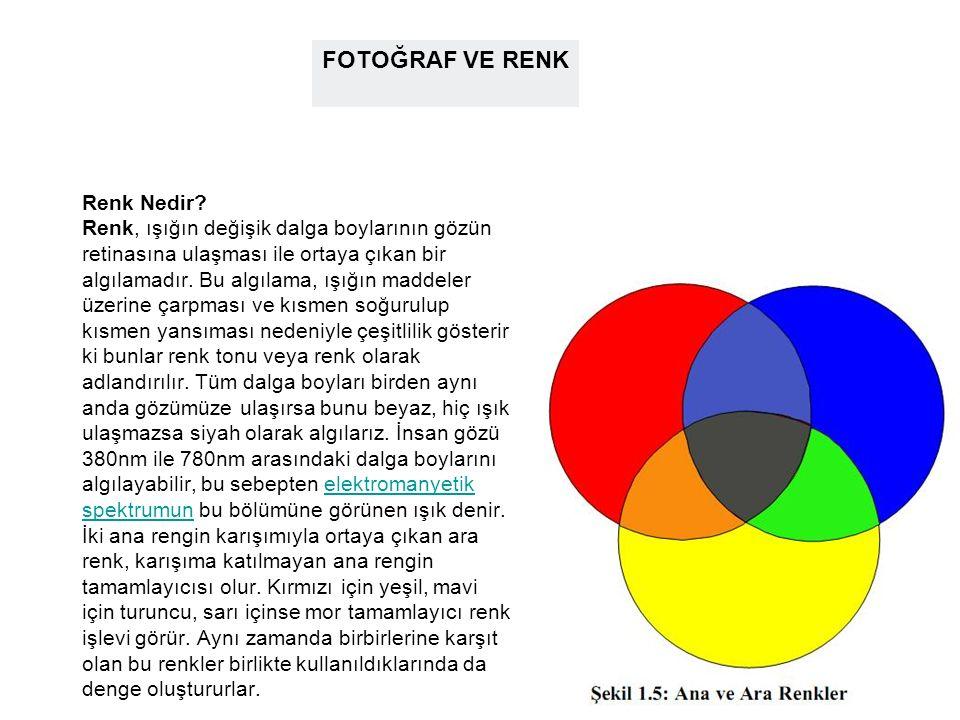 Birkaç Öneri: Özel bir tercihiniz yoksa iki güçlü rengi aynı oranda bir arada kullanmayın.