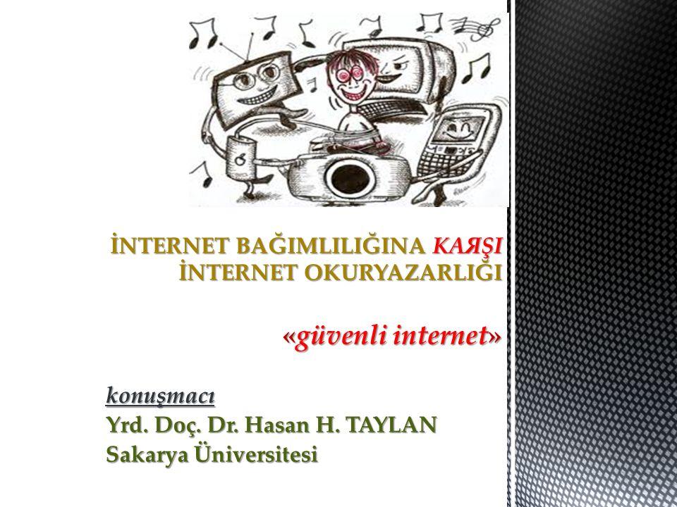 konuşmacı Yrd. Doç. Dr. Hasan H. TAYLAN Sakarya Üniversitesi
