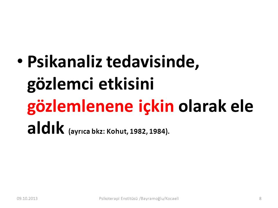 Doğaya Yabancılaşma 09.10.2013Psikoterapi Enstitüsü /Bayramoğlu/Kocaeli19