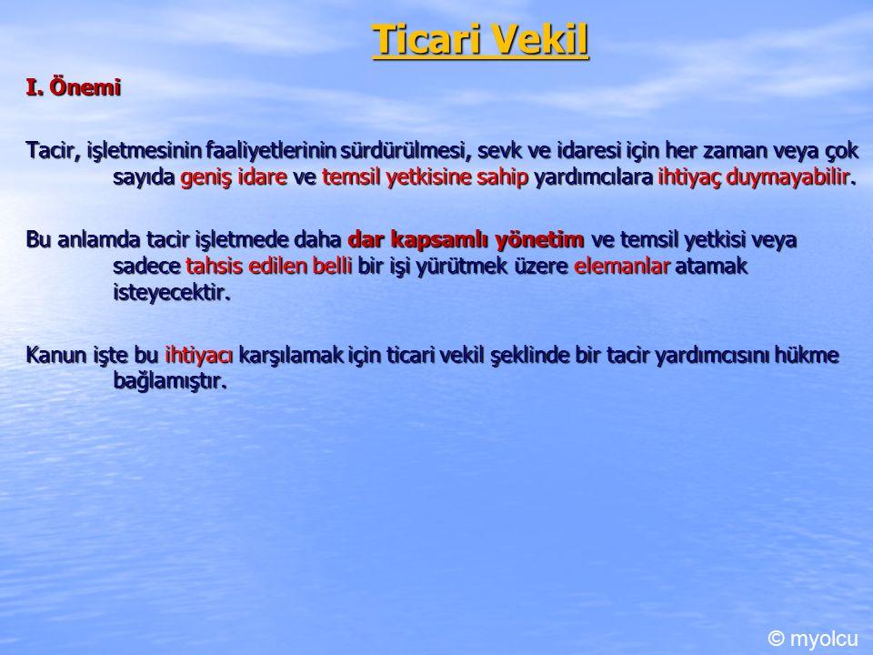 Ticari Vekil I.