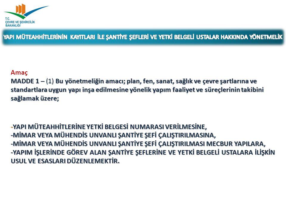 İSTEK TARİHİ VE NUMARASI: 04.09.2014/ 26 Yapı Müteahhitliği Bilişim Sisteminde Müteahhitlere ait adresin değişmesi halinde adresin güncel olduğu İlin kullanıcıları tarafından güncelleme yapılamamaktadır.