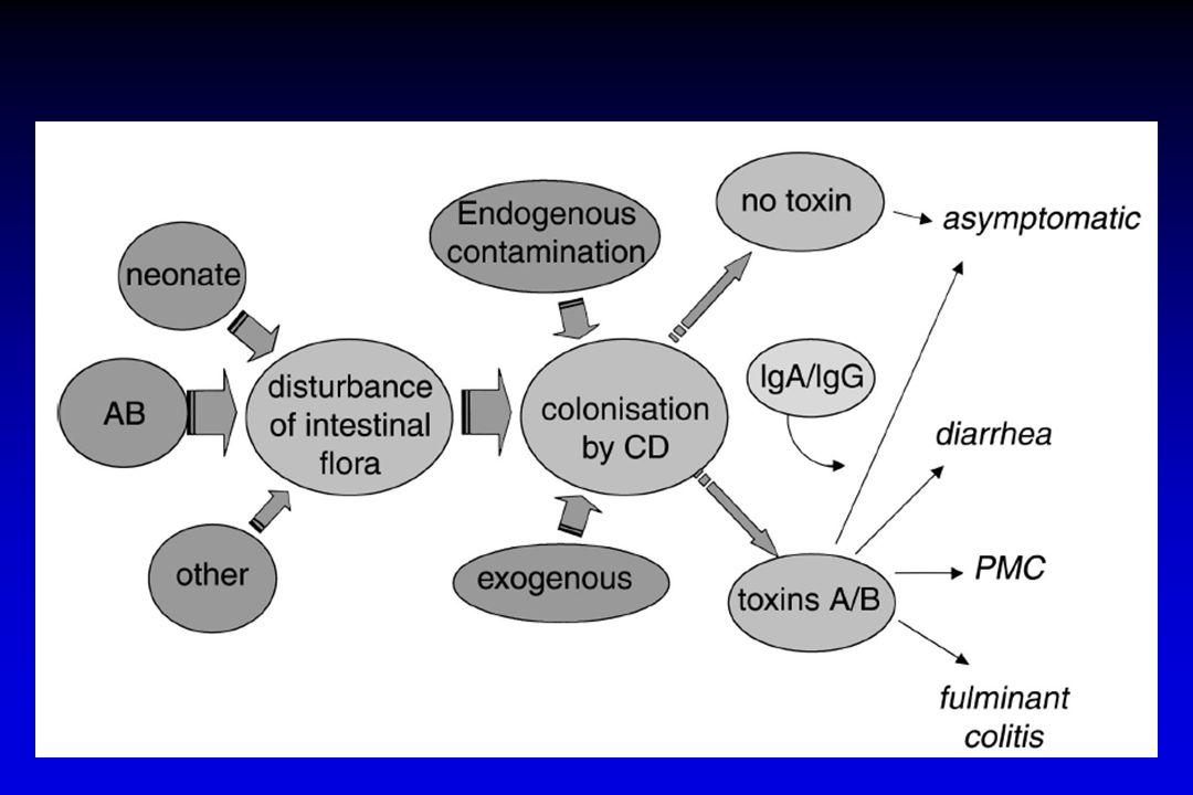 Şiddetli CDI – komplike süreç Önerilen: Vankomisin po (4x125 mg 10 g) Alternatif: Fidaxomicin ( 2 x 200 mg 10 g) Önerilmez: Metronidazol (3 x 500 mg oral, 10 g) Debast SB, CMI 2014;20(Suppl.
