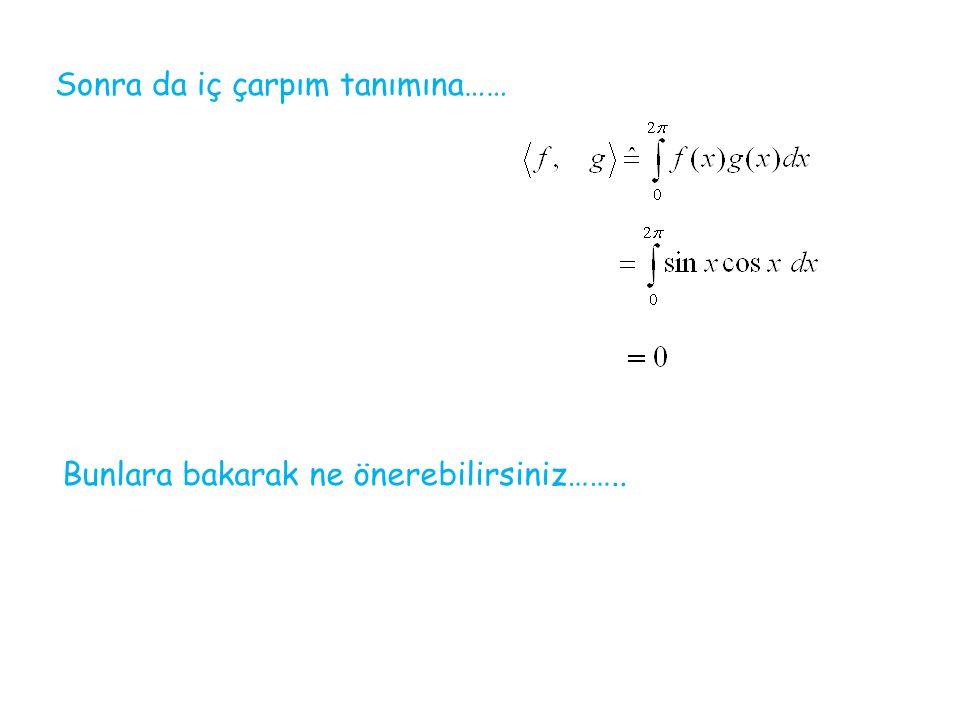 Fourier Serisi Jean Baptiste Joseph Fourier (1768-1830) periyotlu bir fonksiyon olsun Nasıl belirleriz?