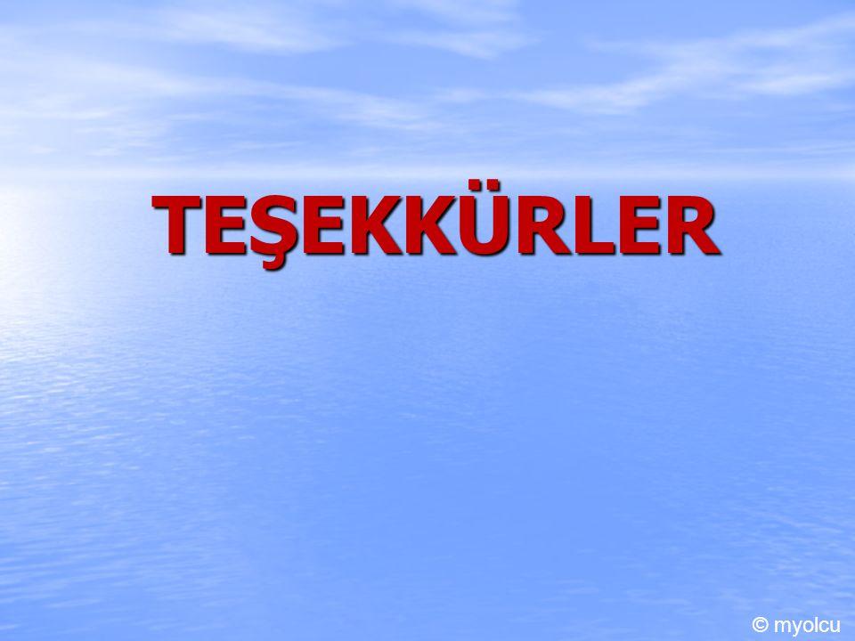TEŞEKKÜRLER © myolcu
