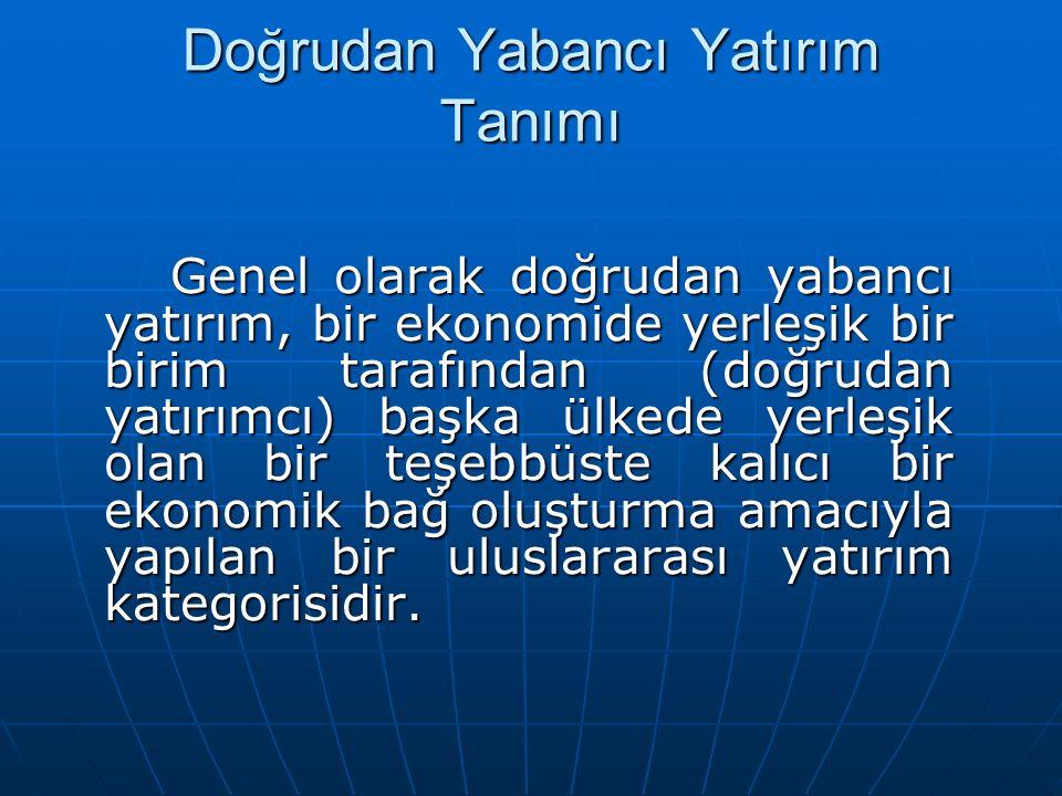 En Fazla Uluslararası Yatırım Çeken On Ülke Ve Türkiye 2002-2006
