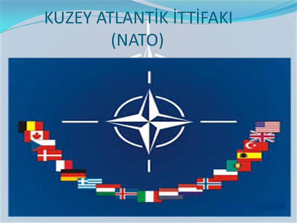 NATO`nun Kuruluşu SSCB'nin yayılmacı bir politika izlemesi ve siyasi baskısı; Batıyı ortak savunmayı öngören askeri bir yapılanmayı oluşturmasını hızlandırmıştır.