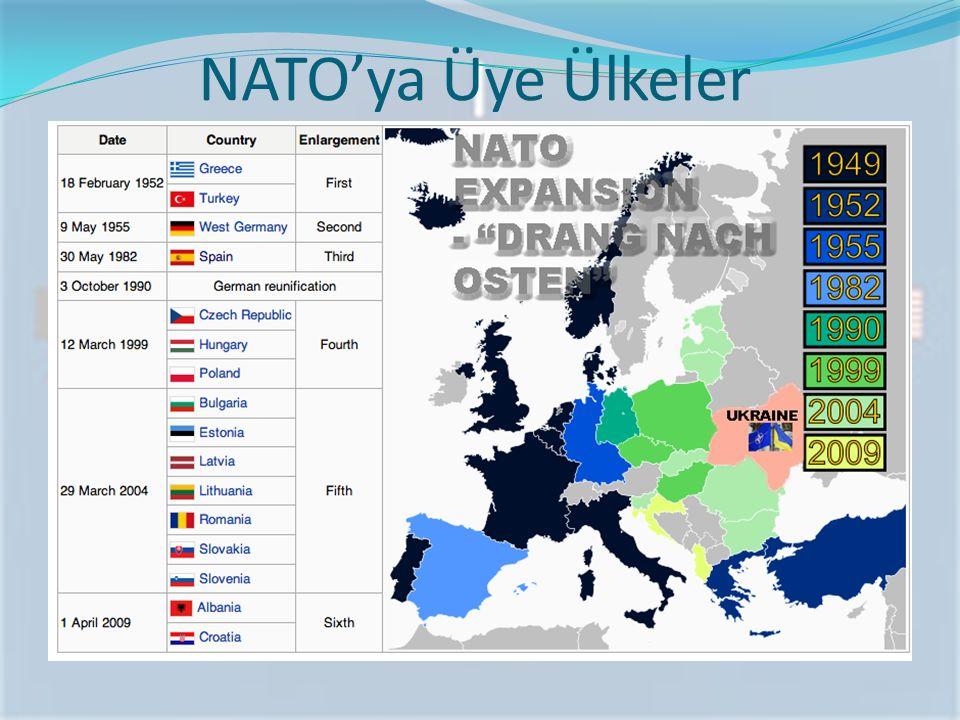 NATO'ya Üye Ülkeler