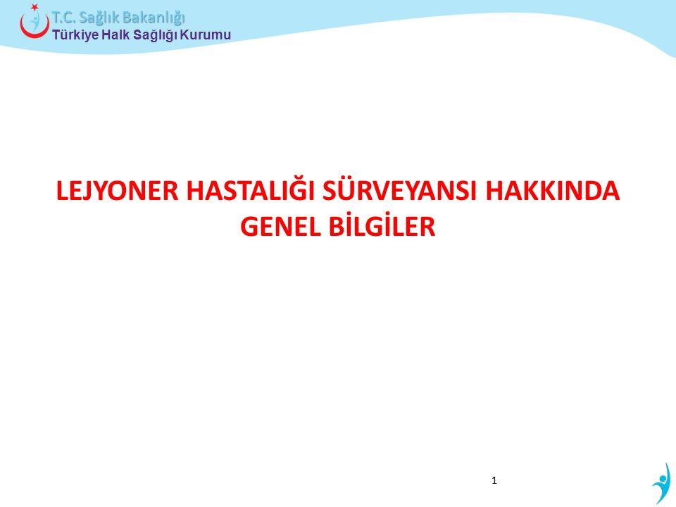 Türkiye Halk Sağlığı Kurumu T.C. Sağlık Bakanlığı LEJYONER HASTALIĞI SÜRVEYANSI HAKKINDA GENEL BİLGİLER 1