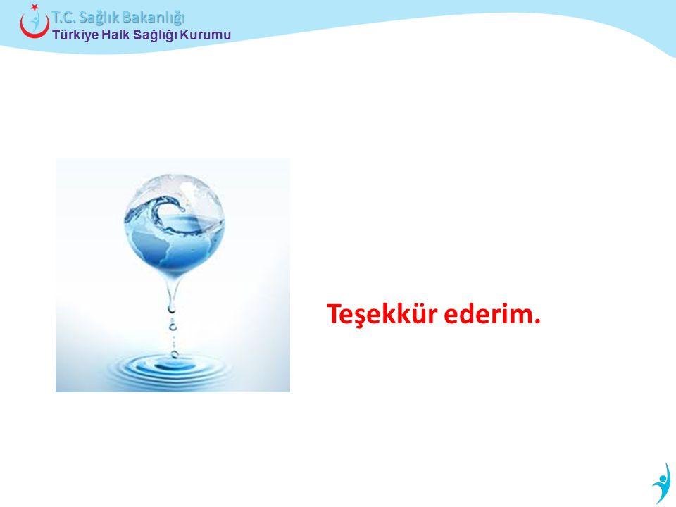 Türkiye Halk Sağlığı Kurumu T.C. Sağlık Bakanlığı Teşekkür ederim.