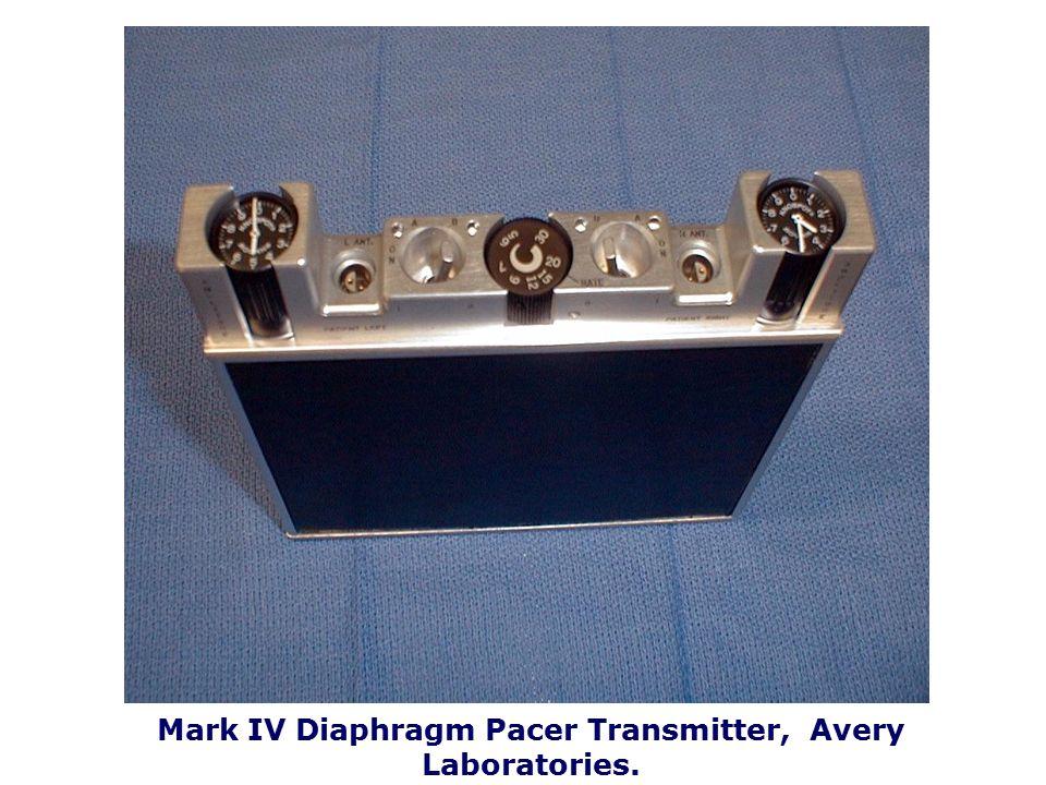 Diaphragm Pacer I-110A Monopolar Implantable Receiver
