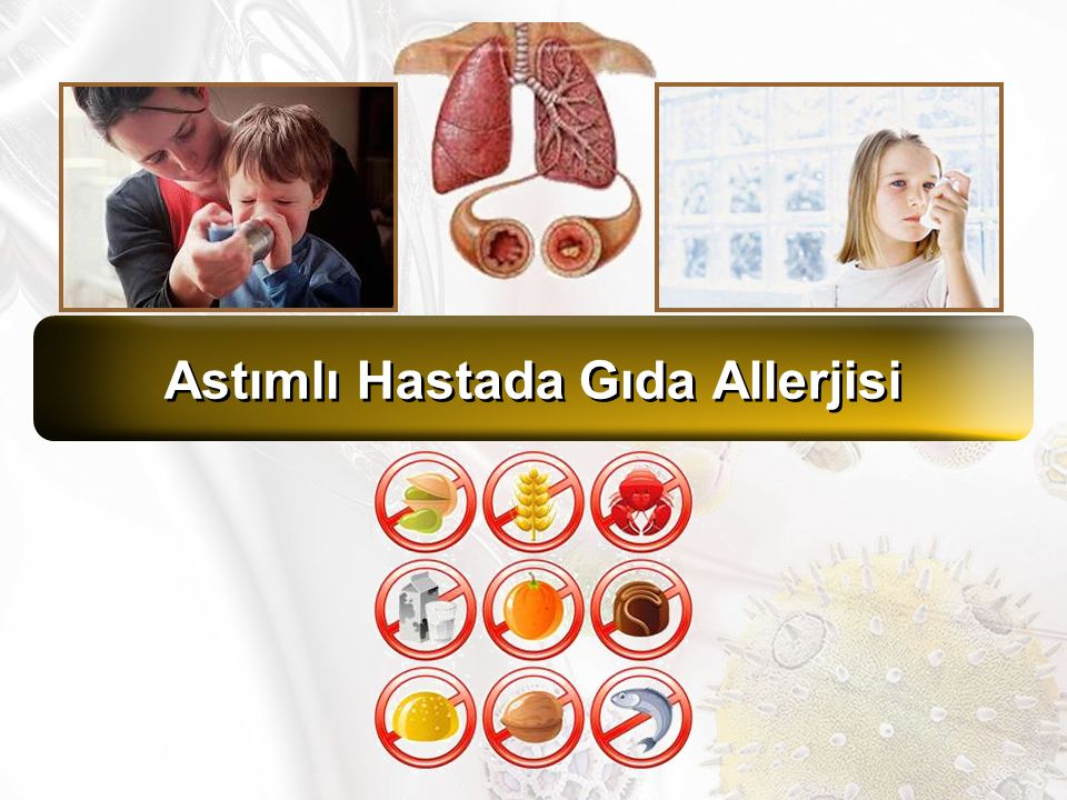 Astımlı Hastada Gıda Allerjisi