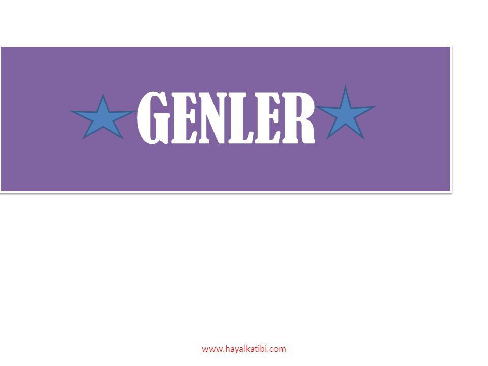 GENLER www.hayalkatibi.com