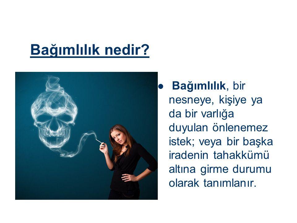 PASİF İÇİCİLİK Sigara; içtiği için ölen her 9 kişi, içmediği halde dumanını soluyan 1 kişinin ölümüne neden olmaktadır.