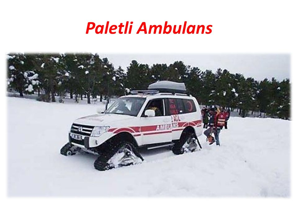Paletli Ambulans