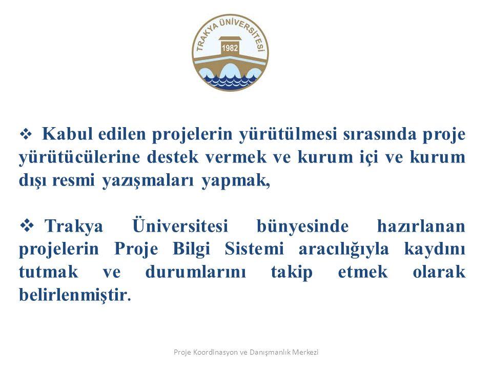 Proje Koordinasyon ve Danışmanlık Merkezi Proje nedir.