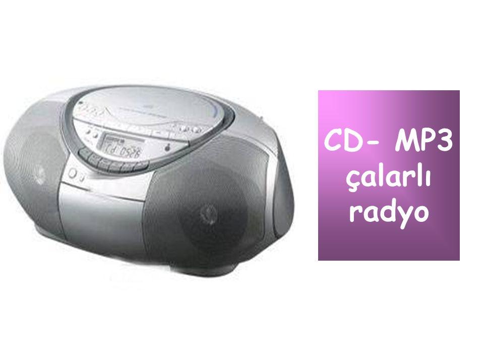 CD- MP3 çalarlı radyo