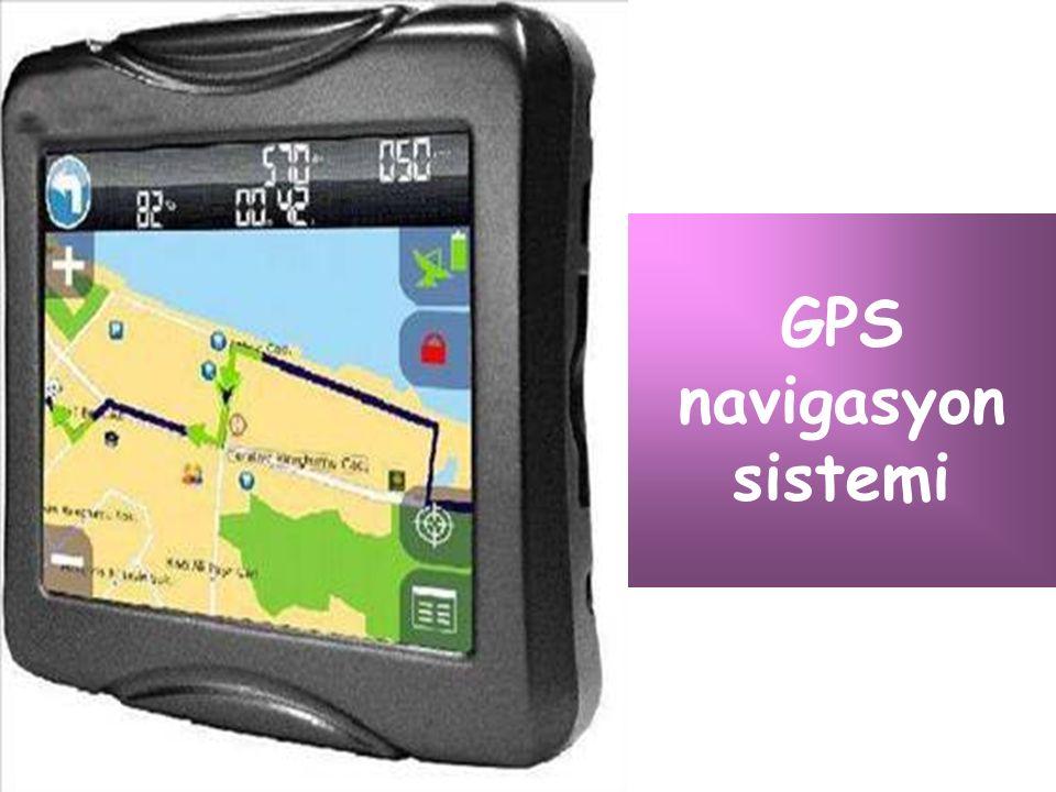 GPS navigasyon sistemi