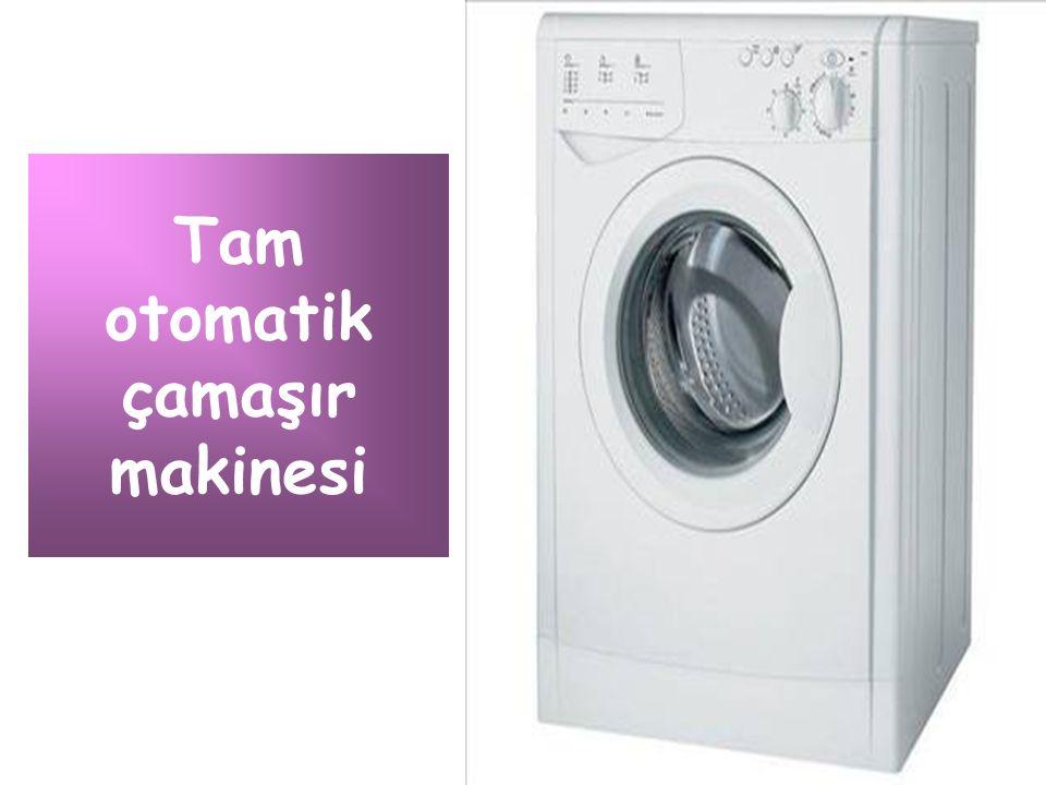 Tam otomatik çamaşır makinesi