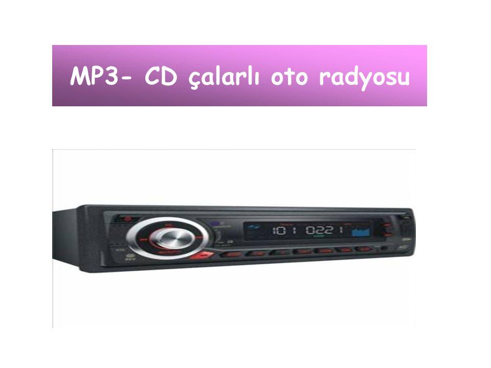 MP3- CD çalarlı oto radyosu
