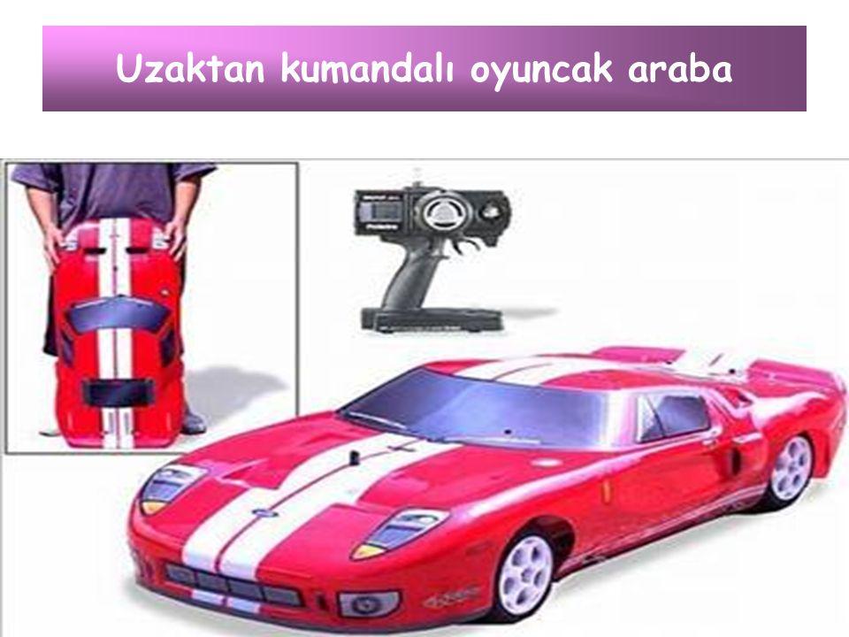 Uzaktan kumandalı oyuncak araba