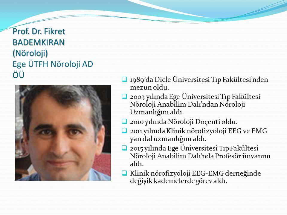 Prof.Dr. Gürsel ÇOK (Göğüs) Prof. Dr.