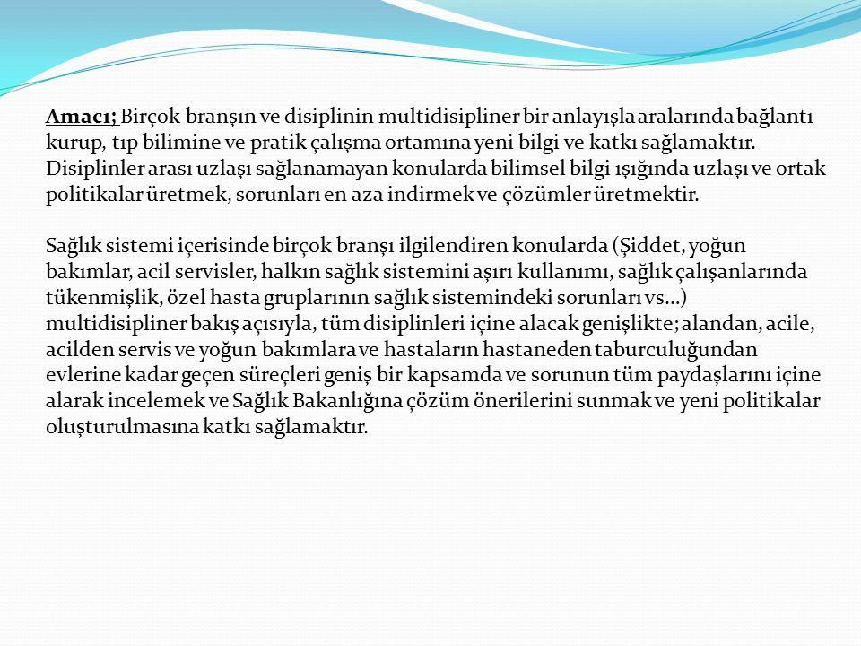 Merkez ve Amaç Derneğin merkezi İzmir'dir Derneğin Amacı; Tıpta farklı uzmanlık ve meslek alanlarını bir araya getirmek suretiyle; tıp alanında sunula