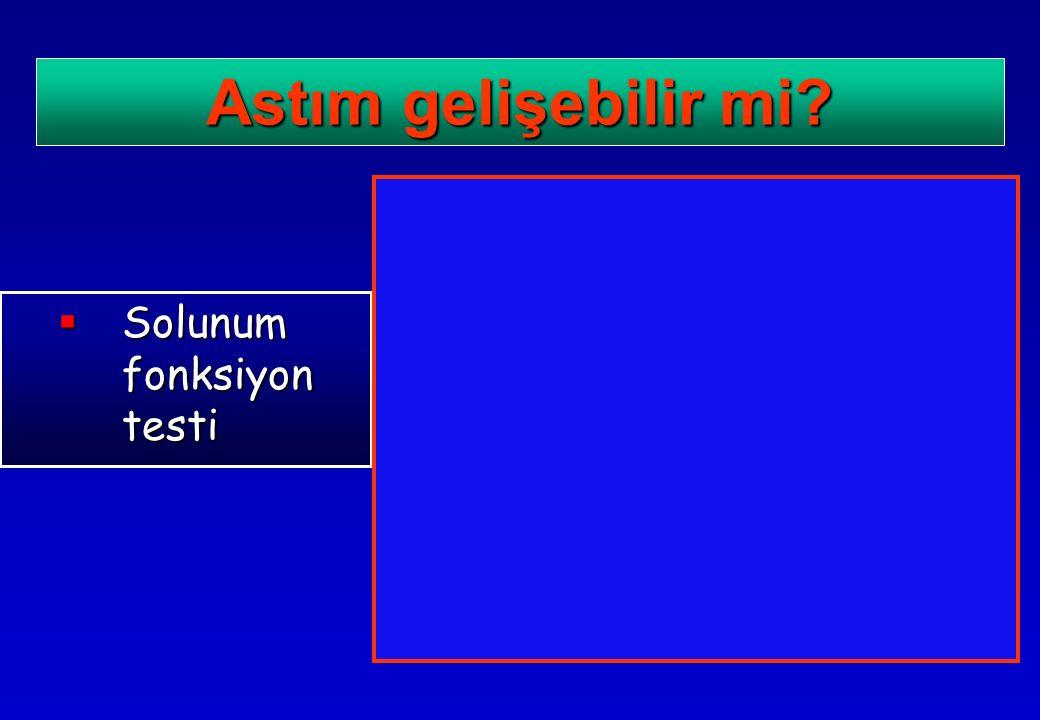  Solunum fonksiyon testi Astım gelişebilir mi?