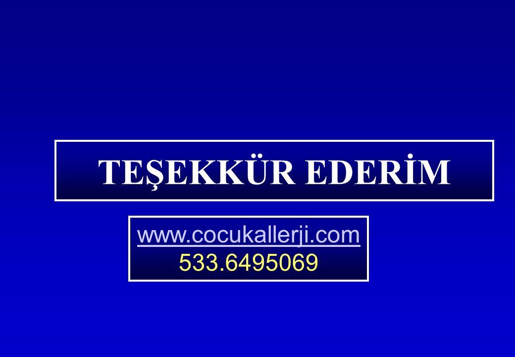 TEŞEKKÜR EDERİM www.cocukallerji.com 533.6495069