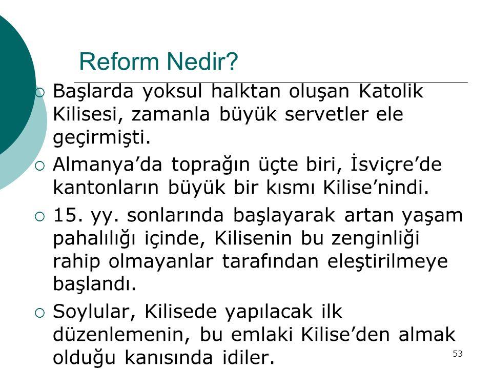 53 Reform Nedir.